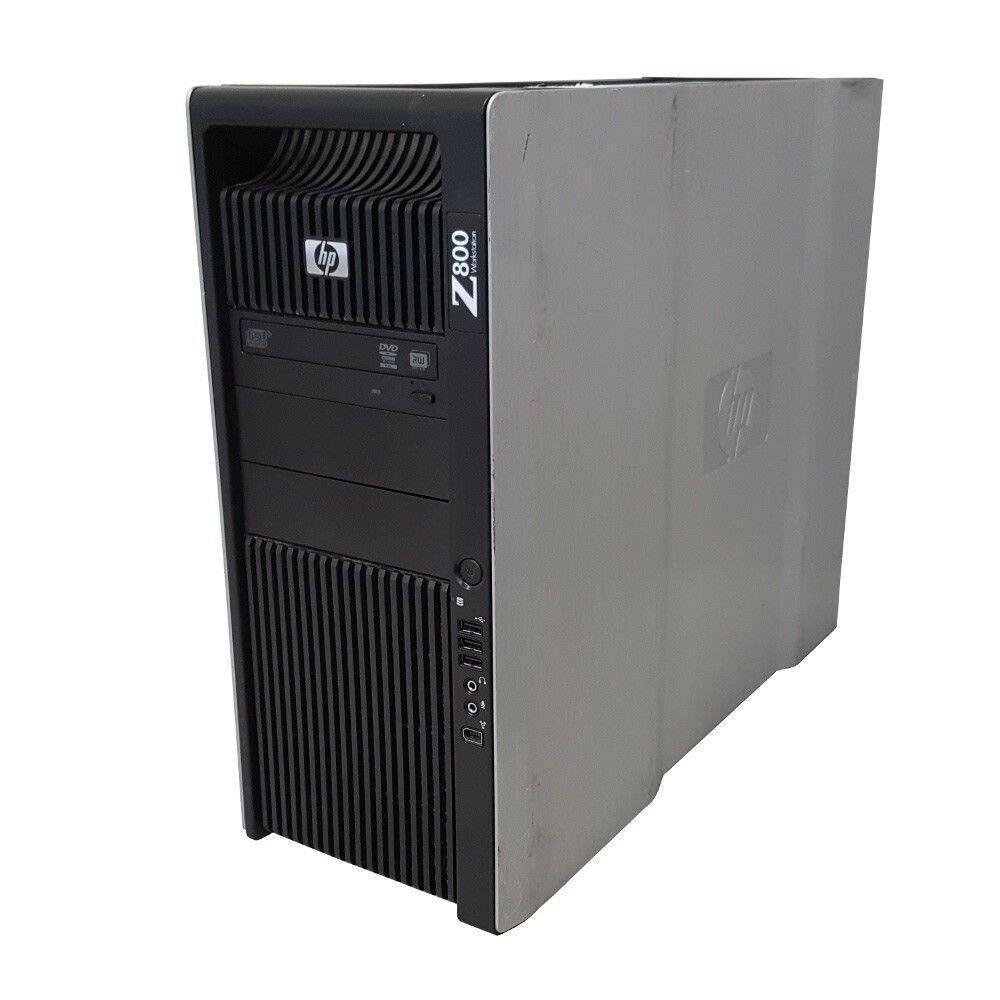 5x HP Z800 Ex Lease Workstation Tower PC Xeon XEON 6-Core X5650 2.6 Ghz Turbo 3.06GHz 8GB RAM 240GB SSD+1TB HDD DVDRW Nvidia Quadro K2000 2GB Graphics Windows 10 Pro + TP-Link Archer T4E Dual-Band AC1200 PCI-E Wi-Fi Adapter