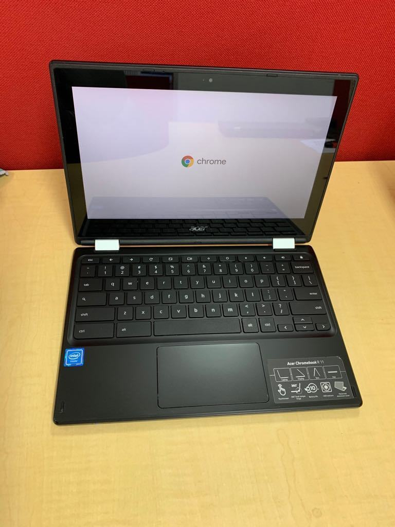 Chromebook Acer R11 C738t-C0CC Ex-lease Intel Celeron N3150 1.6 GHZ 4 GB 16 GB SSD 11.6 Inch Wide Screen	CHROME OS  Touch screen