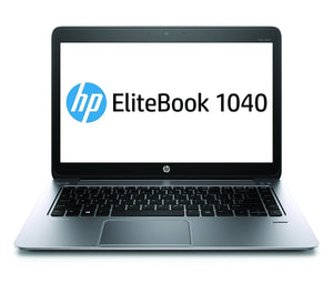 HP EliteBook Folio 1040 G1 Intel Core i7-4600U 2.1 GHz 8GB RAM  256GB SSD Windows 10 Pro - 4G LTE - PC Traders New Zealand