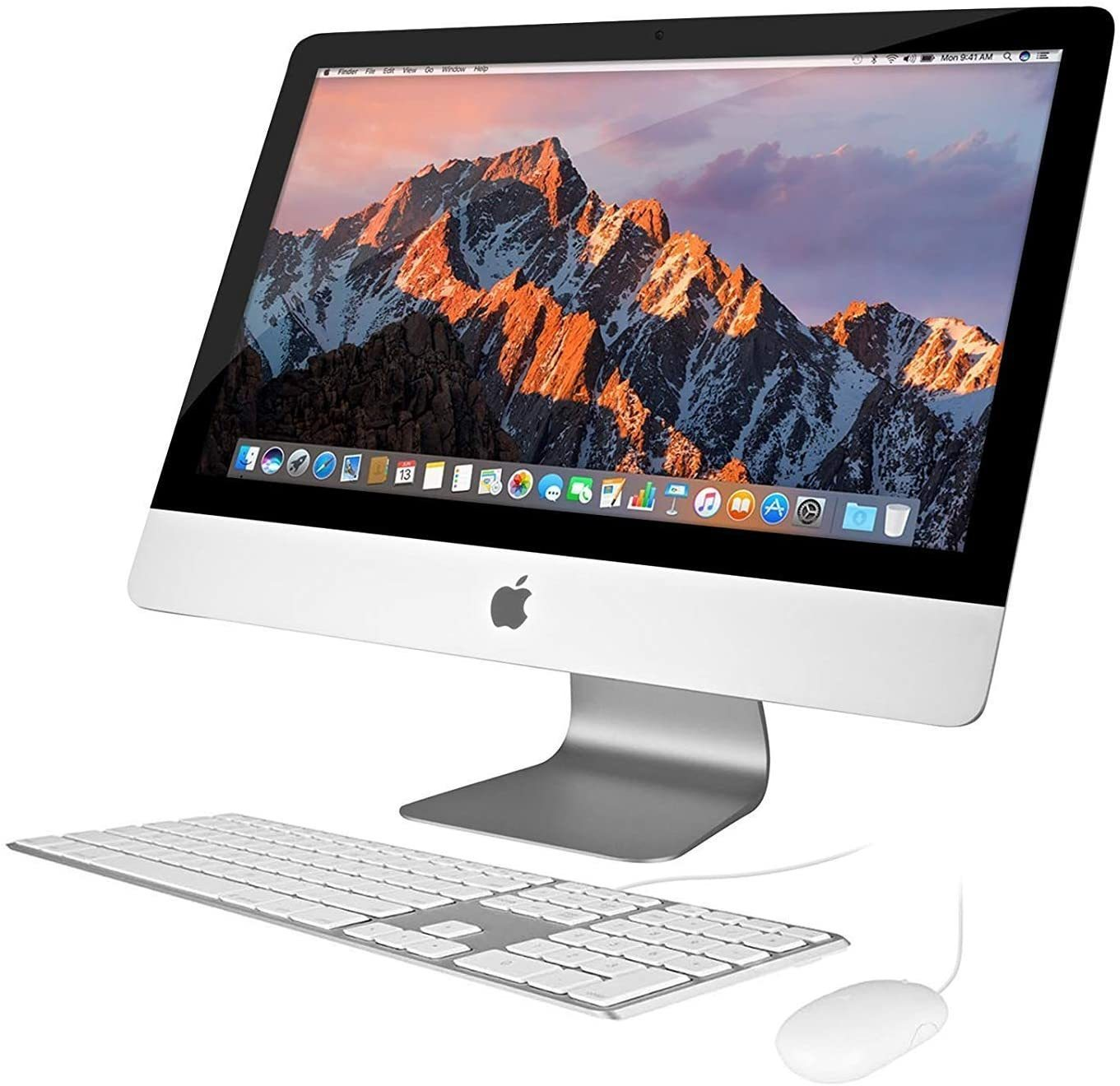 "B Grade - Apple iMac A1418 Ex Lease All-in-One Desktop i5-5250U Turbo-Boost 2.7GHz 8GB RAM 1TB HDD HD GRAPHICS 6000 21.5"" Full HD 1080P WEBCAM MAC OS CATALINA (Medium Damage Casing)"