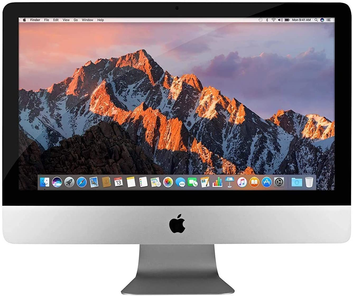 "Apple iMac A1418 Ex Lease All-in-One Desktop i5-5250U Turbo-Boost 2.7GHz 8GB RAM 1TB HDD HD GRAPHICS 6000 21.5"" Full HD 1080P WEBCAM MAC OS CATALINA"