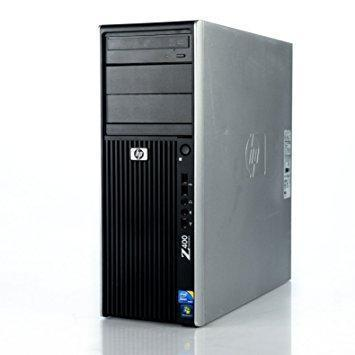 HP Z400 Workstation Ex Lease Desktop Xeon W3505 2.53Hz 12GB RAM 500GB HDD DVD-RW Windows 10 Pro - PC Traders New Zealand