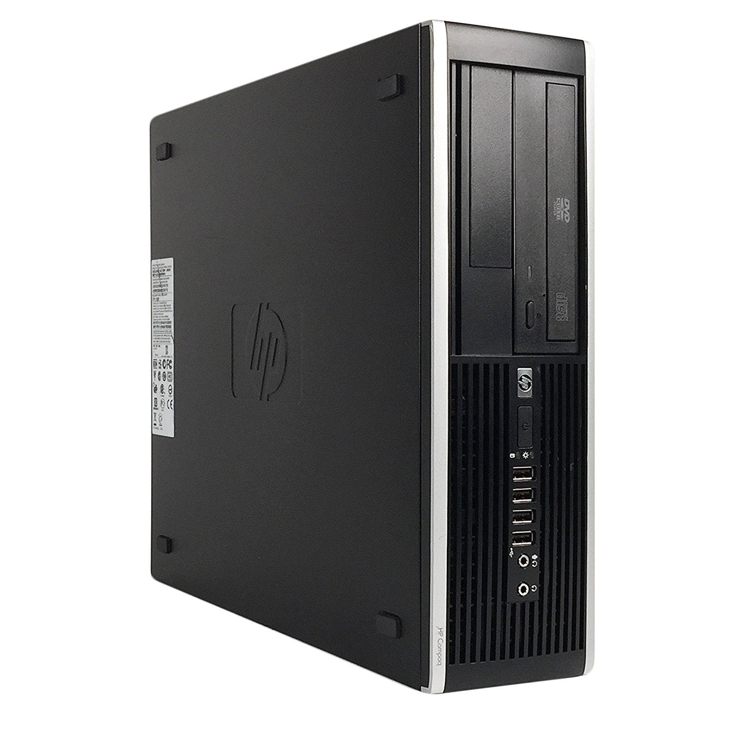HP Compaq 6300 PRO Ex Lease SFF Desktop i7-3770 3.40GHz 8GB RAM 240GB SSD DVD-RW Windows 10 Pro
