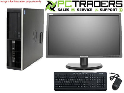 Cheapest Combo: HP Compaq 8300 Elite SFF + 22