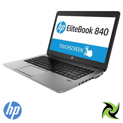 HP Elitebook 840 G2 Ex Lease Touch Screen Laptop i7-5600U 2.60GHz (Turbo boost  3.2Ghz) 8GB RAM 240GB SSD HD Graphics 5500 No ODD 14