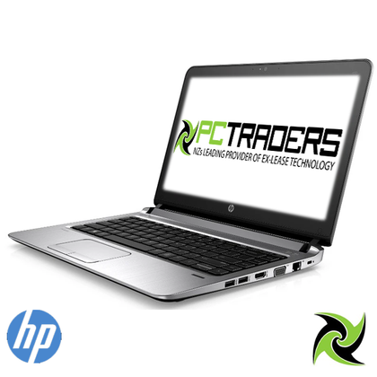 B GRADE - HP ProBook 430 G3 Ex Lease Laptop Intel Core i5 6200U 2.3GHz 8GB RAM DDR4 128GB SSD 13 Inch TouchScreen WebCam Windows 10 Home (TOUCHPAD WORN OUT) - PC Traders New Zealand