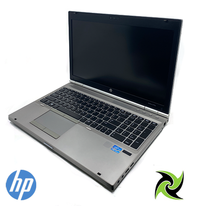 B Grade - HP EliteBook 8570p Ex Lease Lapto i5-3320M 2.60GHz 8GB RAM 240GB SSD DVD-R 15