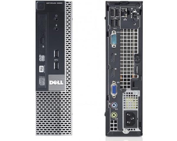 "Business [COMBO DEAL] DELL OptiPlex 9020 USFF Ex Lease Desktop i5-4570s 2.9GHz 8GB RAM 240GB SSD DVD-RW Windows 10 Pro + 2x 22"" Brand MONITORS + Keyboard & Mouse"