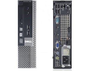 DELL OptiPlex 9020 USFF Ex Lease Desktop i5-4570s 2.9GHz 4GB RAM 128GB SSD DVD-RW Windows 10 Pro - PC Traders New Zealand