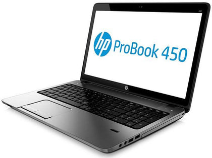 HP PROBOOK 450 G2 EX-LEASE LAPTOP i5-5200U 2.20GHz 8GB RAM 240GB SSD SKYLAKE GT2 HD GRAPHICS CARD 520 DVD-R 15.6