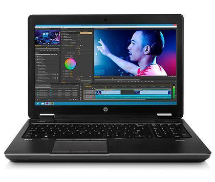 HP ZBook15 G2 Ex Lease Workstaion Laptop Core i7 4810MQ 2.8GHz 16GB RAM 480GB SSD WIN10 PRO 2GB NVidia K2100M Graphics Card DVD-ROM Laptop - PC Traders New Zealand