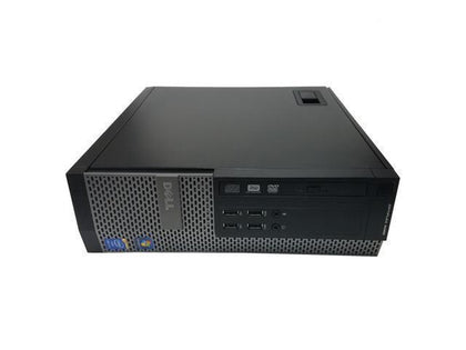 Dell OptiPlex 9020 Ex Lease SFF Desktop i5-4670 3.4GHz 8GB RAM 240GB SSD DVDRW Windows 10 Home - PC Traders New Zealand