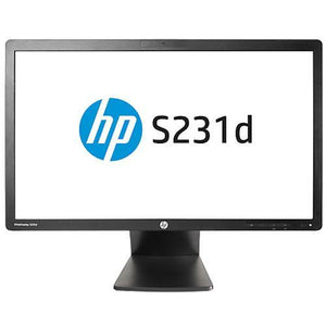 HP ProDisplay S231d LED Ex Lease  23-inch FHD IPS 1920x1080 WebCam