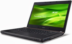 "ACER TravelMate P643-M Ex Lease Laptop Intel Core i5-3230M 2.6GHz 4GB RAM 500GB HDD 14"" TFT Windows 10 Home WebCam"