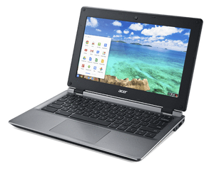 "Acer C730-C0X7 Chromebook Ex Lease Celeron N2840 2.16GHz 2GB RAM 16GB HDD 11"" WebCam Chrome OS BYOD DEVICE - PC Traders New Zealand"