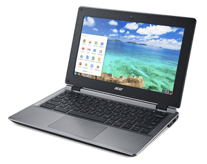 "Acer C730-C5MP Chromebook Ex Lease Celeron N2940 1.83GHz 4GB RAM 16GB HDD 11"" WebCam Chrome OS BYOD DEVICE - PC Traders New Zealand"