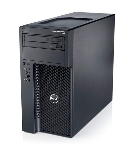 Dell T1650 Ex Lease Tower PC i5-3550 3.30GHz 16GB RAM 240GB SSD 1GB Nvidia QUADRO K600 DVD±RW Windows 10 Pro Desktop - PC Traders New Zealand