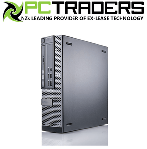 Dell OptiPlex 990 SFF Ex Lease Desktop i5-2500 3.3GHz 4GB RAM 250GB HDD DVD±RW Windows 7 Pro Used Computer A Grade - PC Traders New Zealand