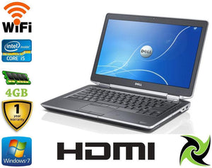 "Dell Latitude E6430 Ex Lease Laptop i5-3380M 2.9GHz 8GB RAM 320GB HDD DVD-ROM 14"" WEBCAM Windows 10 Pro - PC Traders New Zealand"