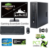 "Gaming Essential Combo !! HP EliteDesk 800 G1 SFF Ex Lease Desktop i5 4th Gen 8GB RAM 1TB HDD Windows 10 pro Includes : 23"" Monitor, PCI Wireless, Nvidia GT710 2GB Graphics Card, Wired Keyboard and Mouse"