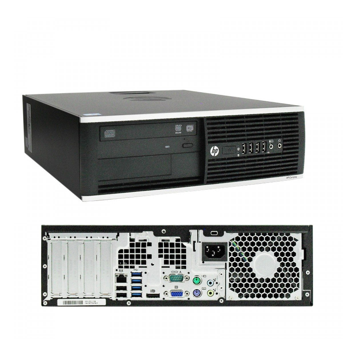 HP Compaq Elite 8300 SFF i5-3470 3 2GHz 4GB RAM 250GB HDD DVD-RW Windows 10  Professional