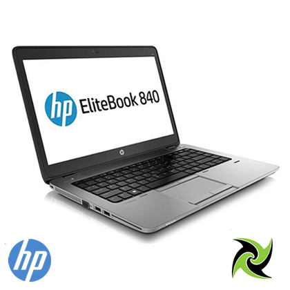 HP EliteBook 840 G2 Ex Lease Laptop i5-5300U 2.3 GHz 8 GB RAM 240 GB SSD 14