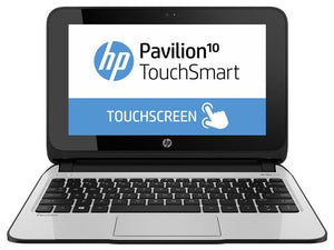 "HP Pavilion 10 TouchSmart Notebook AMD A4-1200 1GHz 2GB RAM 320GB HDD 10"" Touchscreen Windows 8 - Comes In Original Box - As New Condition A+! - PC Traders New Zealand"