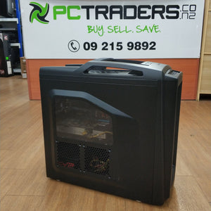 CoolerMaster Storm Custom Built Ex Lease Gaming PC i7-4770 3.4GHz 16GB 1TB HDD 2GB GeForce GTX 760 Windows 10 Home - PC Traders New Zealand