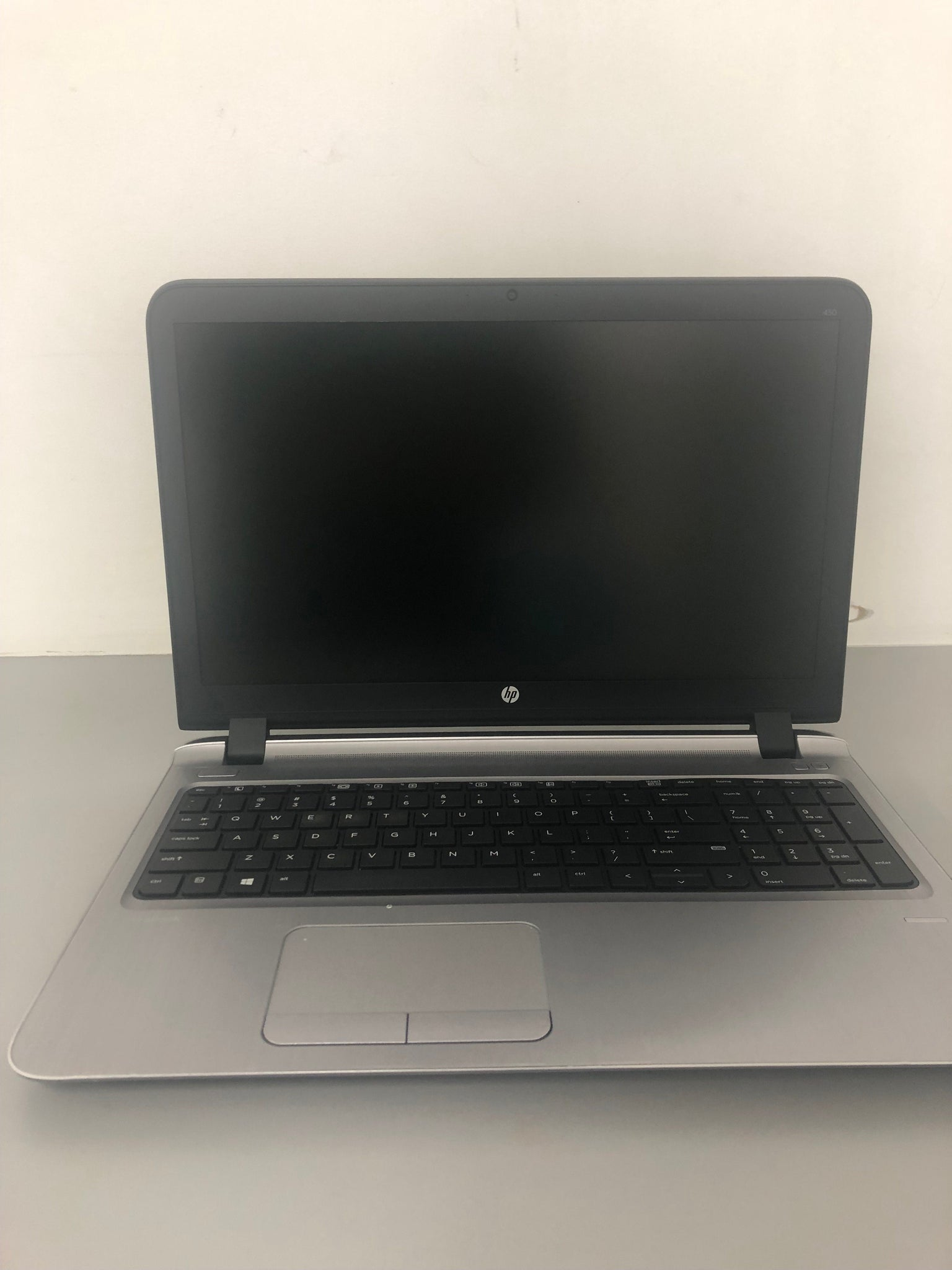 "B GRADE-HP ProBook 450 G3 Ex Lease Laptop  i5-6200U Turbo 3.2Ghz  8GB RAM 120GB SSD 15.6"" Windows 10 Home HDMi(screen blemish)"