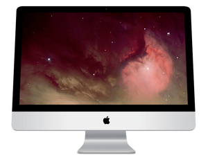 "Apple iMac A1225 Ex Lease All-in-One Intel Core 2 Extreme X7900 2.8GHz 4GB RAM 500GB HDD DVD-RW 24"" WebCam OSX - PC Traders New Zealand"