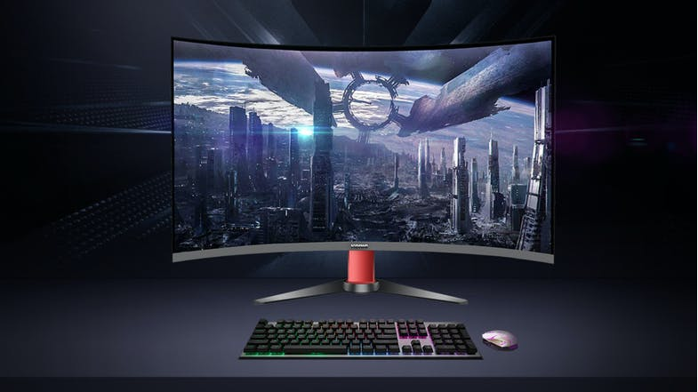 KONIC 32'' QHD 2K Curved Gaming Monitor