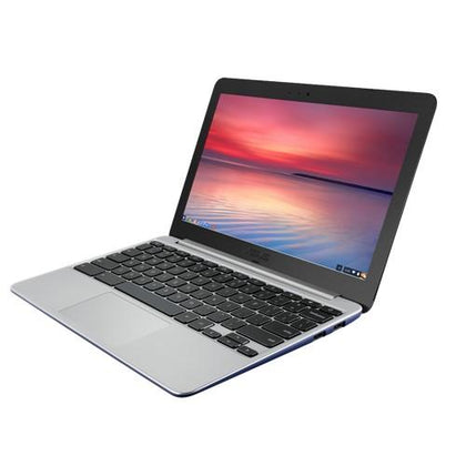 B Grade - Chromebook ASUS	C201PA Rockchip RK3288 1.8 GHz 2 GB 16 GB SSD 11.6 Inch Wide Screen WebCam CHROME OS DAMAGED CASING MEDIUM,SCREEN SCRATCHES MINOR