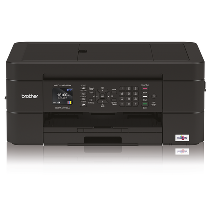 Brother MFCJ491DW 12/6ipm Colour Inkjet MFC Printer WiFi - PC Traders New Zealand
