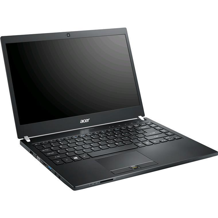 "Acer TravelMate P645-S Ex Lease Laptop i5-5200U 2.20GHz 8GB RAM 128GB SSD 14"" WebCam Windows 10 Pro"