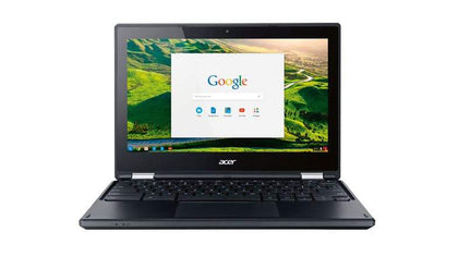 ACER CHROMEBOOK R 11 EX-LEASE TOUCH SCREEN (C738T) INTEL CELERON N3150 1.60 GHZ 4GB 16GB SSD NO ODD 11