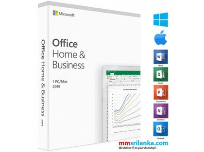 Office 2019 Home & Business 1 PC/MAC - PC Traders New Zealand