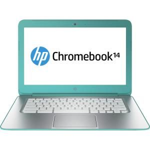 HP 14-ak002TU Chromebook Ex Lease Intel Celeron N2840 2.16 GHz 4GB 16GB SSD 14 Inch Wide Screen WebCam CHROME OS