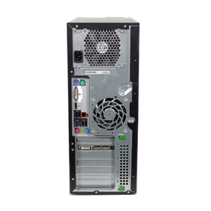 HP Z220 Workstation Ex Lease Tower PC i7 3370 3.4 GHz 8GB RAM 1TB HDD DVD-RW Windows 10 Pro Quadro 2000 Graphics - PC Traders New Zealand