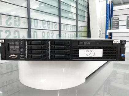 HP ProLiant DL380 G6 (2x Intel Xeon X5550 @ 2.67GHz, 84GB RAM, NO DRIVES) - PC Traders New Zealand