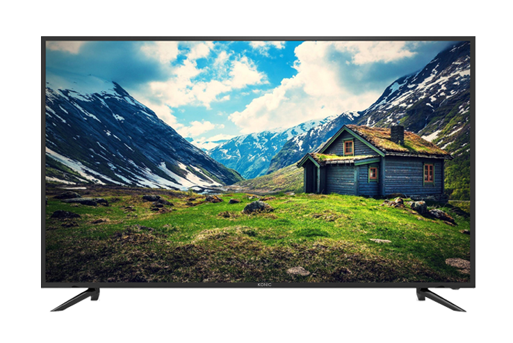 "KONIC 65"" BRAND NEW 4K ULTRA HD TV, HDMI,VESA 400*400MM, 2 YEARS WARRANTY"