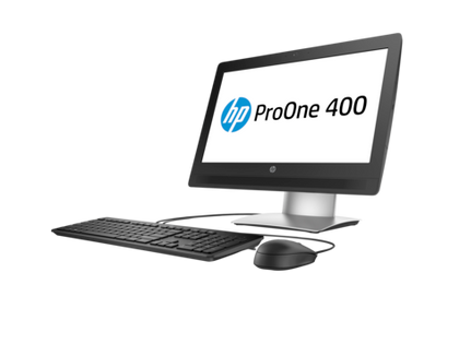 HP ProOne 400 G2 Ex-Lease Intel Core i3-6100 3.1 GHZ  8GB RAM 240GB SSD Windows 10 Pro  DVD+-RW DL/CD-RW webcam 20