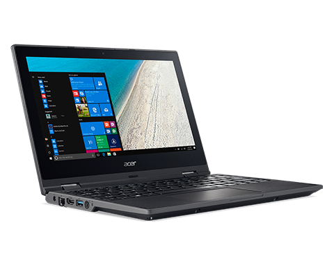ACER TRAVELMATE SPIN EX-LEASE B118-RN TOUCH INTEL PENTIUM N4200 1.10GHz 4GB RAM 128GB SSD WIN 10