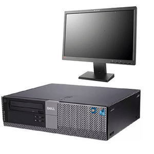"[COMBO DEAL]Dell OptiPlex 980 DT Ex Lease Desktop i5-650 3.2 GHz 4GB 128GB SSD DVD-RW Windows 7 Pro + Brand 22"" Monitor + Keyboard & Mouse"