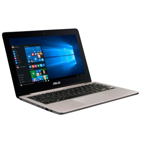 "B Grade - ASUS Transformer Book 360 Flip Touch Screen TP200SA EX-lease N3050 1.6Ghz 2GB RAM 32GB SSD 11.6"" Webcam windows 10 Home (Dent on lid / wear and tear)"