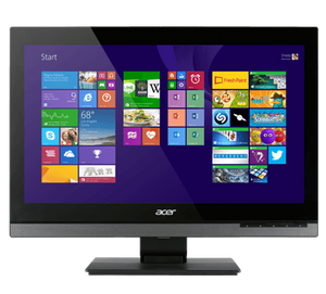 "ACER VERITON Z4810G TOUCH SCREEN EX LEASE ALL IN ONE PC i3 4150T 3.00GHZ Dual Core 8GB RAM 120GB SSD DVDR 23""FULL HD WEBCAM WINDOWS 10 Home - PC Traders New Zealand"
