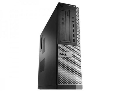 Dell OptiPlex 9010 Ex-Lease Desktop i5-3470 3.2Ghz 4GB RAM 120GB SSD DVD-R Window 10 Pro - PC Traders New Zealand
