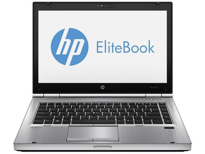 HP EliteBook 8470p Ex-Lease i5-3360M 2.60GHz 8GB RAM 240GB SSD DVD±RW 14