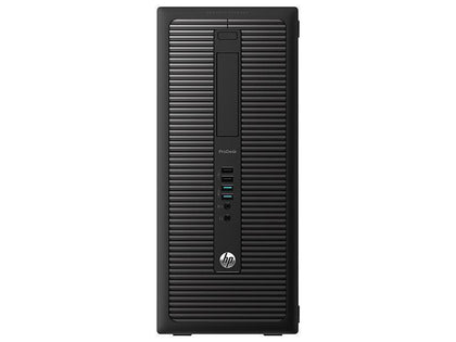 HP Elitedesk 800 G1 Ex Lease Tower PC i7-4770 3.4GHz 16GB RAM 2TB Storage DVDRW Windows 10 Pro - PC Traders New Zealand