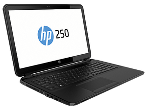 "HP 250 G2 Ex Lease Notebook Celeron Dual Core 1.8GHZ 4GB RAM 500GB HDD 15.6""LCD Windows 10 Home - B-Grade Minor Scratches On Lid"