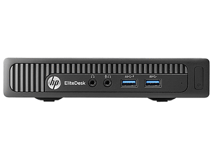 HP Ex Lease Mini Desktop EliteDesk 800 G2 Mini Intel Core i5-6500T 2.5 GHZ 8 GB 240GB SSD Windows 10 Pro - PC Traders New Zealand